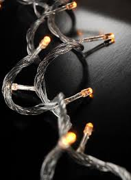 string lights clear cord 100ct 28ft multi flicker modes