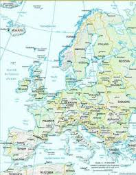 map of europe and russia rivers facts and information about the continent of europe