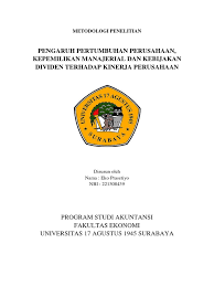 skripsi akuntansi ekonomi proposal skripsi akuntansi pdf viewer