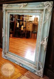 best 20 painting a mirror ideas on pinterest bathroom mirrors annie sloan in duck egg blue old white annie s clear dark soft waxes on a gorgeous mirror frame