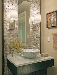 powder bathroom ideas this for the powder room framing the tile instead of doing
