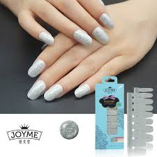 aliexpress com buy fashion bling nail polish strip silver