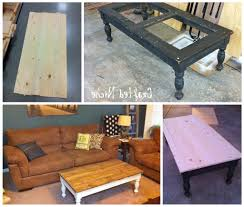 coffee table how to replace glass coffee table something else