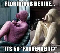 Cold Weather Meme - floridians love the cold weather meme on imgur