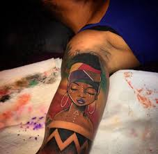 tattoos the of africa ethnic