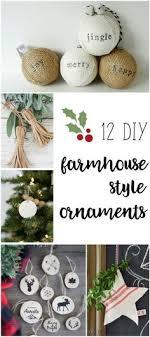 i this beautiful handmade ornaments so farmhouse