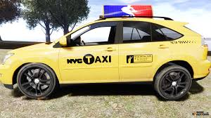 lexus cars nyc lexus rx400 new york taxi for gta 4