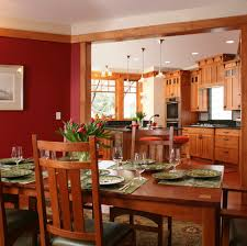 craftsman style cabinets with crown molding dining room craftsman