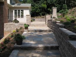 how to make a brick patio on uneven ground patio outdoor decoration