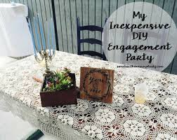 diy backyard engagement party on a budget sweet southern simplicity
