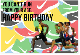 john cena birthday card usain bolt olympic smile fastest man alive birthday card with