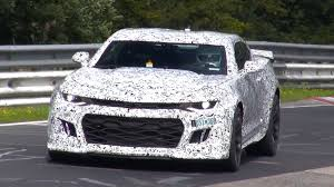 video 2017 chevrolet camaro zl1 filmed at the nurburgring gtspirit