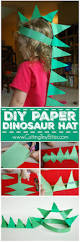 diy paper dinosaur hat simple paper crafts dinosaur hat and diy