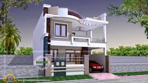 modern small house plans india youtube