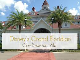dvc grand floridian one bedroom villa youtube