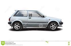 Toyota Starlet Stock Photo Image 79382287