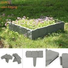 plastic garden edging ideas brick garden border edging ebay