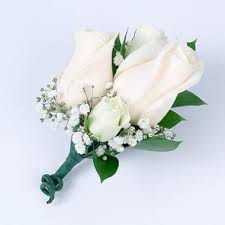 flower corsage white wedding collection corsage and boutonniere package