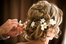 wedding flowers in hair wedding hair flower accessories