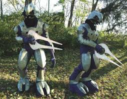 Halo Halloween Costumes Completed Halo Costume