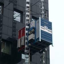 ascensore a cremagliera montacarichi a colonne a cremagliera per persone e materiali