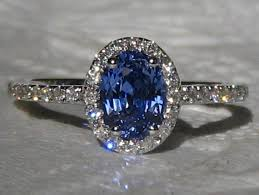 sapphire halo engagement rings blue sapphire engagement ring cornflower blue ceylon sapphire in