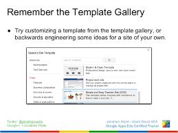 pimp my site customization options for google sites