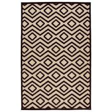 Yellow And White Outdoor Rug Non Slip Backing Outdoor Rugs Rugs The Home Depot