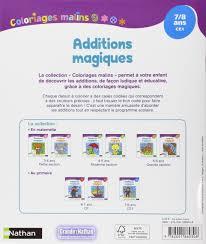 amazon fr coloriages malins additions magiques ce1 pascale