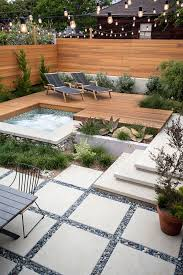 small courtyard designs patio contemporary with swan chairs best 25 modern landscaping ideas on modern landscape