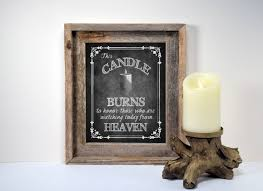 wedding memorial sign wedding memorial candle sign printed from heaven this
