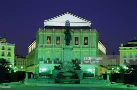 Royal Theatre Stock Photos And Pictures Getty Images - royal theatre by night plaza de oriente madrid spain stock photo