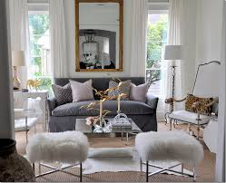 Gray Sofa Decor Living Room Best Living Rooms Decorations Grey White And Gold