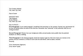 closing thank you letter letter template