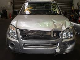 holden rodeo right headlight headlamp ra update white base lx dx