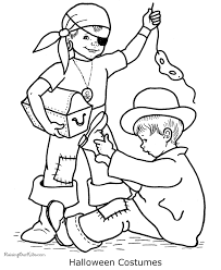 happy halloween coloring pages costumes coloring book