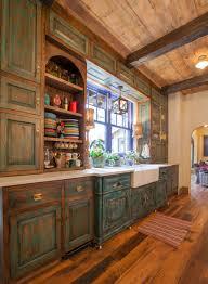 deco maison rustique cuisine confortable et invitante cette cuisine inspirã e du