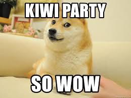 Original Doge Meme - kiwi party so wow original doge meme generator