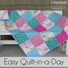 best 25 quilt in a day ideas on easy baby quilt