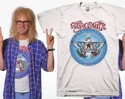 Garth Halloween Costume Wayne U0027s Garth Aerosmith Shirt Halloween Costume