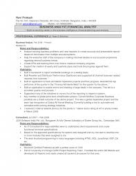 Example Business Analyst Resume by Sample Resume Business Intelligence Consultant Resume Builder