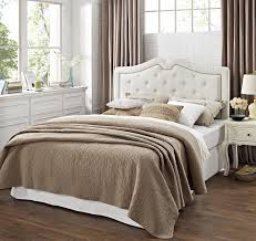 tufted headboard with wood trim diy tufted headboard for your bed makeover