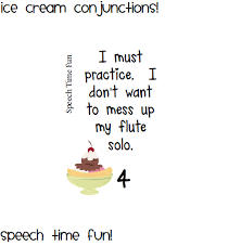 ice cream conjunctions