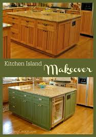 kitchen island makeover imparting grace kitchen island makeover