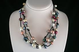 pearl necklace jewellery making images Nantucket pearls featuring pearl jewelry by pam frietus jpg