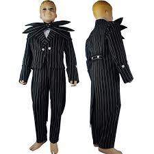 Jack Skellington Halloween Costume Nightmare Christmas Jack Skellington Cosplay Costume