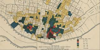 Stl Map Urban Vacancy And A Planning Approach For The Future Of St Louis