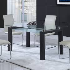 glass kitchen dining tables wayfair alouette table loversiq