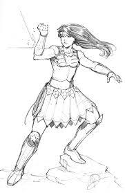 wonder woman sketch by max dunbar on deviantart