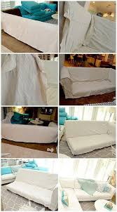 Sectional Sofa Slipcovers Best 25 Sectional Couch Cover Ideas On Pinterest Tall End